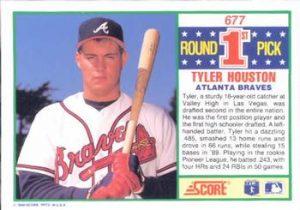 Tyler Houston Score 1990 Card