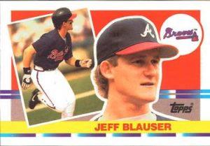 Jeff Blauser 1990 Topps