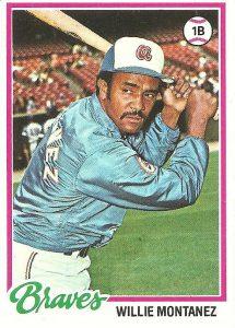 Willie Montanez card
